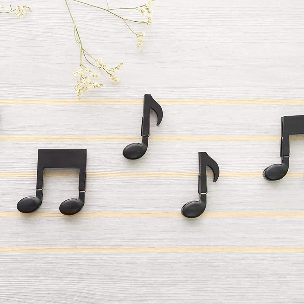 Lantusi Creative Musical Note Clip Multifunction Hang Clothes Clip Food Sealing Folder Clips