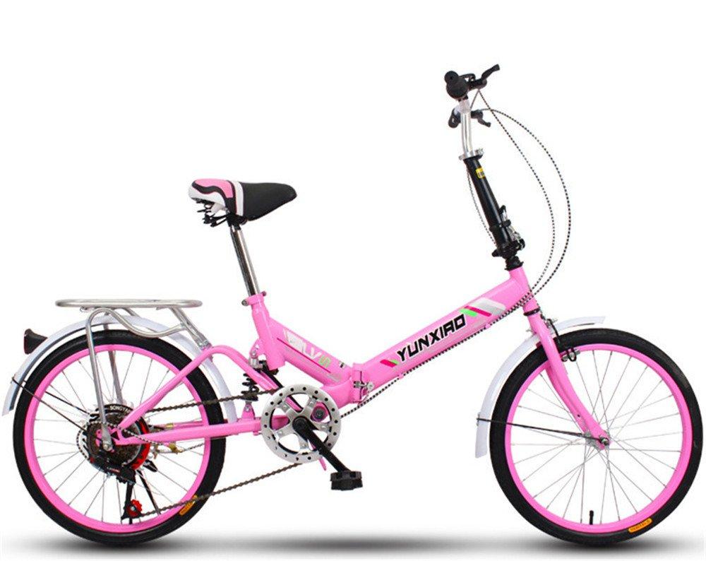 折りたたみ自転車 折り畳み 16インチ 20インチ 変速自転車 単速  変速 通勤 通学 小型 小径 簡単収納 B07C9TQLJ2 20インチ変速|L L 20インチ変速