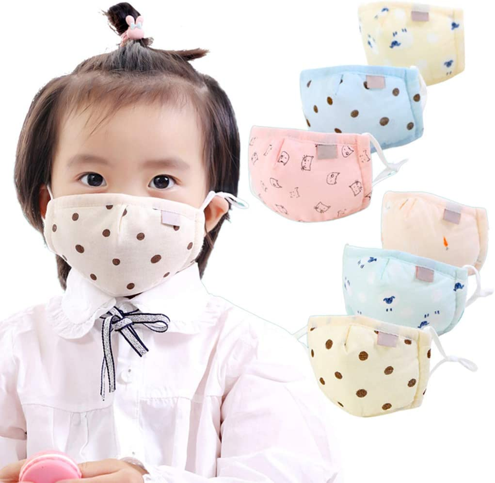 ESden Infant Baby Kids Warmer Cotton Anti Dust Washable Mouth Guard Adjustable Cover