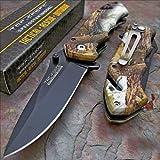 Pocket Knife Tac-Force Snowblind Camo Tactical