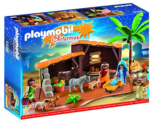 PLAYMOBIL Nativity Stable with Manger (Small Stable Nativity)