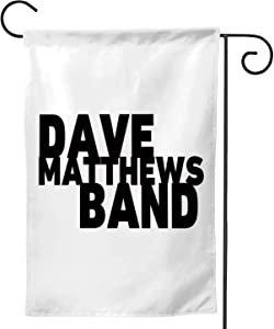 C COABALLA Dave Matthews Colorful,Welcome Garden Flag Double Sided Outdoor Decoration 12.5''x18''