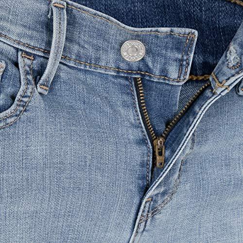 Woman Levi's 29 Blue Limit Pants 30 T2 Denim Sky's 710 Super Skinny 44q8rw