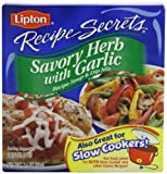 Lipton Soup and Dip Mix, Savory Herb with Garlic, 2.4 oz