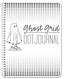 BookFactory Ghost Grid Dot Journal / Bullet Notebook 120 pages 8.5'' x 11'' Wire-O (JOU-120-7CW-A(DotJournal))