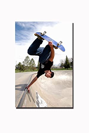 amazon cool extremeスポーツポスターextremeスポーツスケートボード