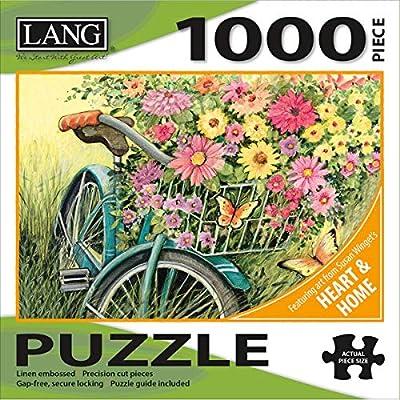 Lang Puzzle Da 1000 Pezzi 737 X 508 Cm Bicicletta Bouquet
