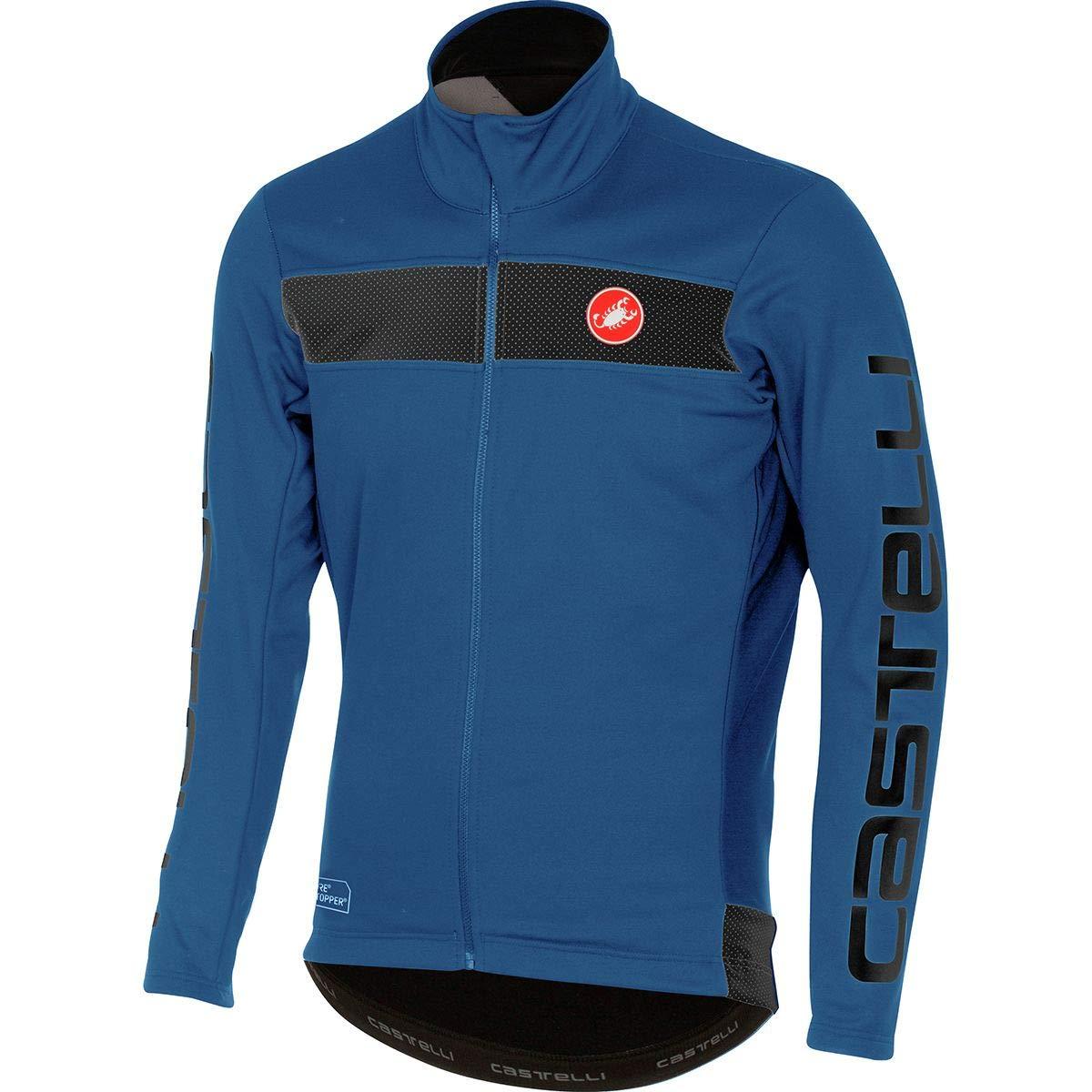 Castelli Raddoppia Jacket - Men's Ceramic Blue, M