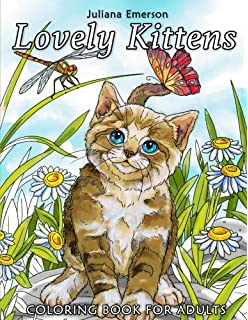 Lovely Kittens Coloring Book For Adults