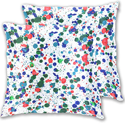 CBN-Splash-Desktop-Wallpaper Throw Pillow Cover, Cotton Square Home Decor