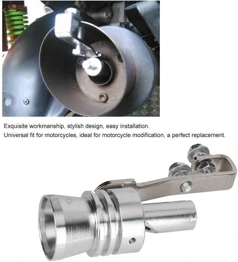 Suuonee Turbo Sound Simulator Pfeife Trompete Typ Universal Auspuff Druckbegrenzungsventil Simulator Pfeife Sound L