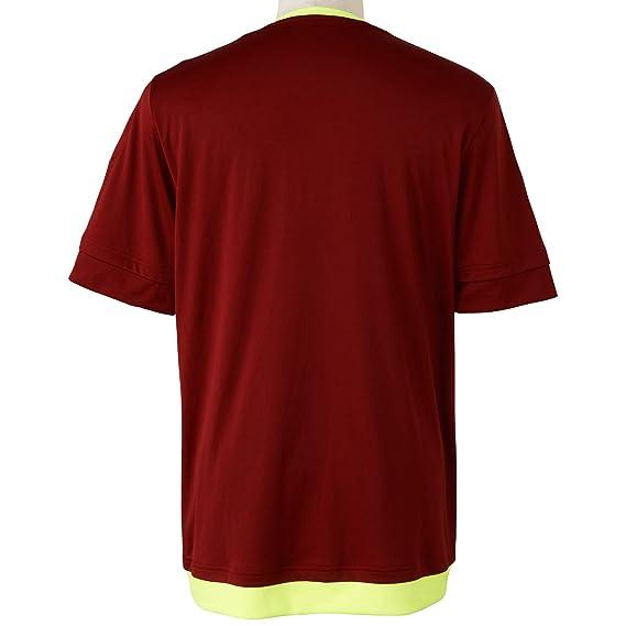 Adidas para Hombre de Manga Corta Camiseta de Venezuela réplica de Jugadores-Inicio, Primavera/Verano, Hombre, Color Rojo - Collegiate Burgundy/Solar Yellow ...