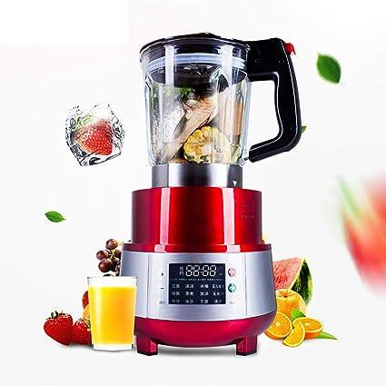 Love House Máquina del Mezclador Fruta,encimera Profesional Mezclador Alta Velocidad Batidora Eléctrica Nutrición Procesadores