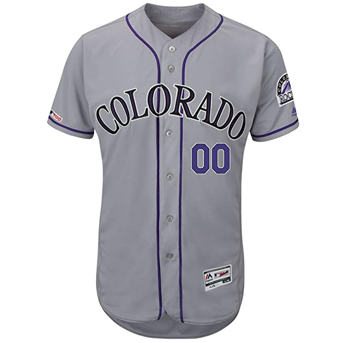 premium selection 596f5 9038c Amazon.com: VF Colorado Rockies Cool Base Player #28 Nolan ...