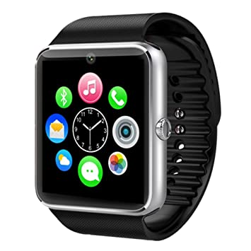 HIGHTECH GT08 Montre Bluetooth Smart Watch Téléphones pour Samsung iPhone Android iOS Phone with Camera