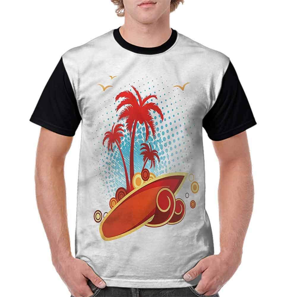 Unisex T-Shirt,Cuban Coastline Wild Nature Fashion Personality Customization