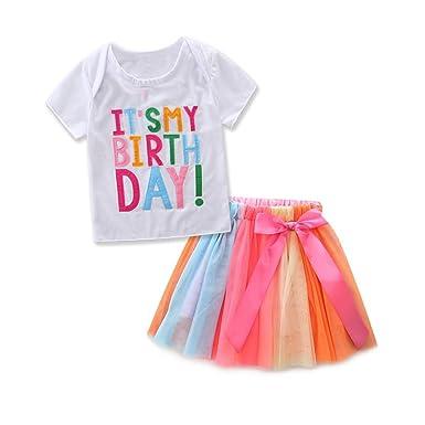 98422f2701b2c Yiding - T-shirt - Bébé (fille) 0 à 24 mois  Amazon.fr  Vêtements et ...