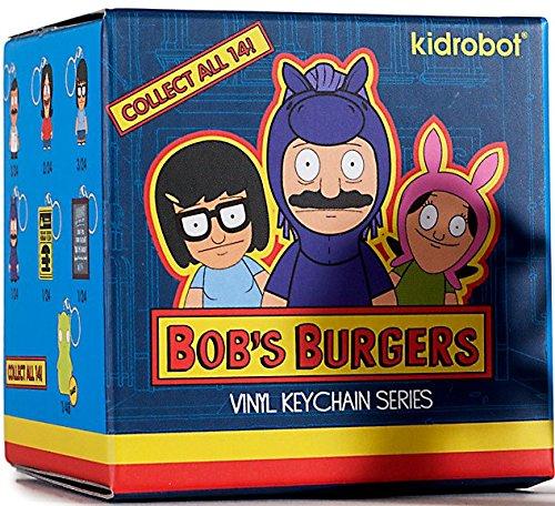 Kidrobot Vinyl Figure (Bob's Burgers One Blind Box Vinyl Figure Keychain Series by Kidrobot)