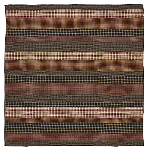 VHC Brands 17920 Beckham Luxury King Quilt 105x120,