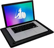 """DefenderPad Laptop EMF Radiation Protection & Heat Shield - Anti Radiation Laptop Computer Pad & EMF Blocker Lap Lapdesk Compatible with up to 17"""" Notebook, Chromebook, MacBook"""