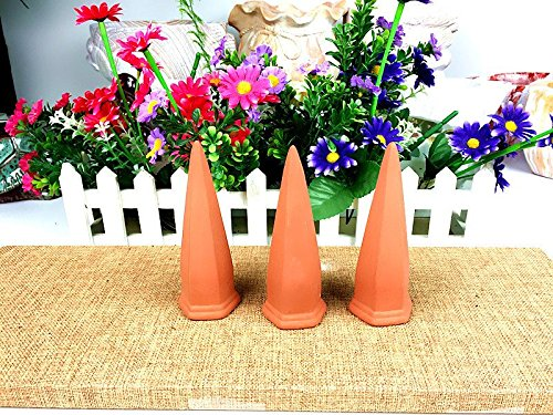 Clay Club Kit (Water Kits Seepage Device Red Pottery Clay DIY Automatic Plant Waterer Accessories Potted Plant Watering Club Irrigation Tool)