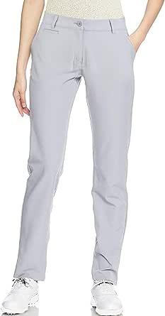 Golf Pants Women Long Stretch Tall Straight Leg Twill Work Chino Ladies