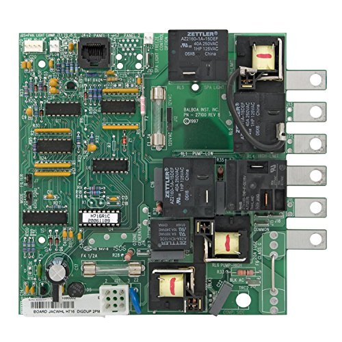 - Balboa Water Group 50920 Jacuzzi Duplex Digital Circuit Board