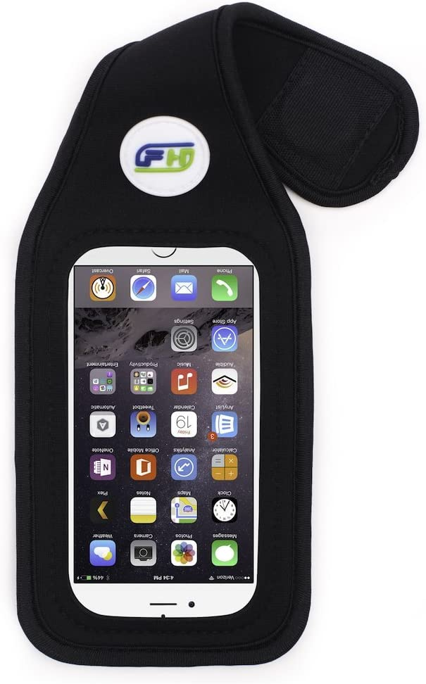 FitHolster Pro phone case REGULAR for iPhone 5 / 5s / SE /4s / iPod Touch - Black