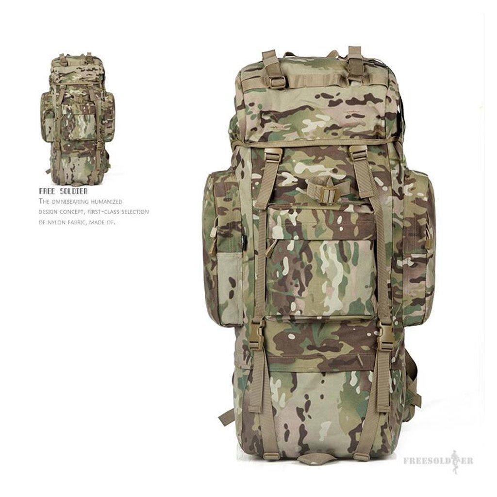EST007® soldaten freiheit im freien bergsteigen taschen 65l rucksack reise überdimensionalen bergreisetasche mit großer kapazität rucksack 65 liter f2