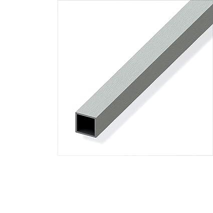 Profilo profili in alluminio anodizzato effetto acciaio inox ...
