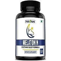 Simply Nutra Melatonin 10mg (Healthy Sleep Cycle) - 120 pills