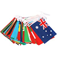SUPVOX 1pc World Flags Countries Flags International Flags Countries Banner International Bunting Banners National Flags for Clubs-Grand Opening