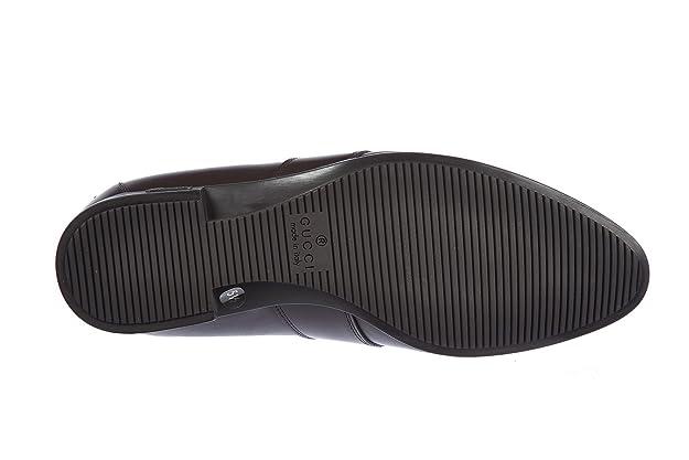 Gucci Mocasines en Piel Hombres cirano marrón EU 44 268370 AHC60 2166: Amazon.es: Zapatos y complementos