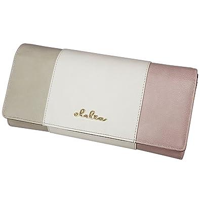 77e66958eb9d [クレリア] Clelia 長財布 財布 レディース アコーディオン トリコロール かわいい シンプル フェイクレザー 大容量