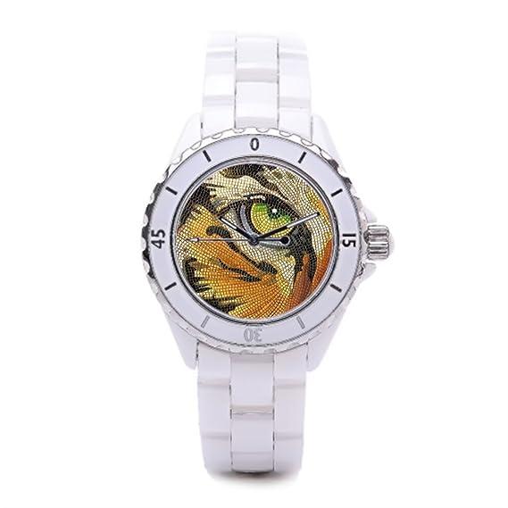 Paul cerámica reloj Jackson reloj de pulsera marcas, tigre barato Relojes de pulsera.