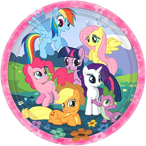 Dinner Plates | My Little Pony Friendship Collection | Party Accessory -