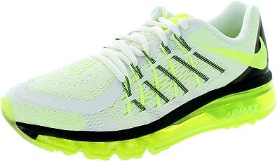 Zapatillas de running Kids Air Max 2015 (GS) White / Volt / Black 7 Kids US: Amazon.es: Zapatos y complementos