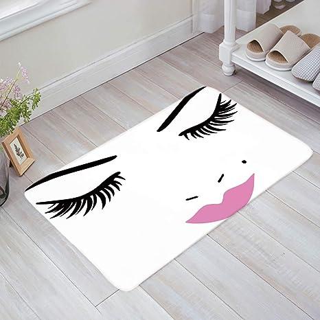 Modern Non Slip Door Floor Rug Mat Kitchen Bathroom Carpet Home Decor Fashio FT