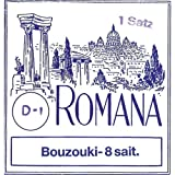 Romana Greek Bouzouki Set, 8-string