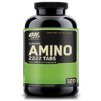Optimum Nutrition Superior Amino 2222 Tablets, Complete Essential Amino Acids, EAAs...