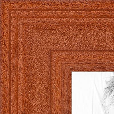 Picture Frame Off White Stain on Solid Wood .. 1.5'' wide
