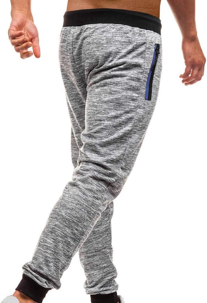 JiaMeng Pantalones de Chándal de Hombres Pantalones de Deporte ...