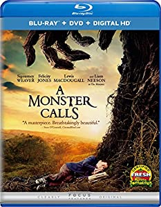 Cover Image for 'Monster Calls, A (Blu-ray + DVD + Digital HD)'