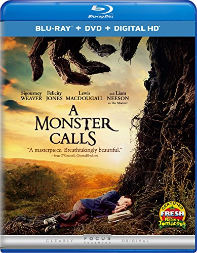 Blu-ray : A Monster Calls (With DVD, Ultraviolet Digital Copy, Digitally Mastered in HD, Snap Case, Slipsleeve Packaging)