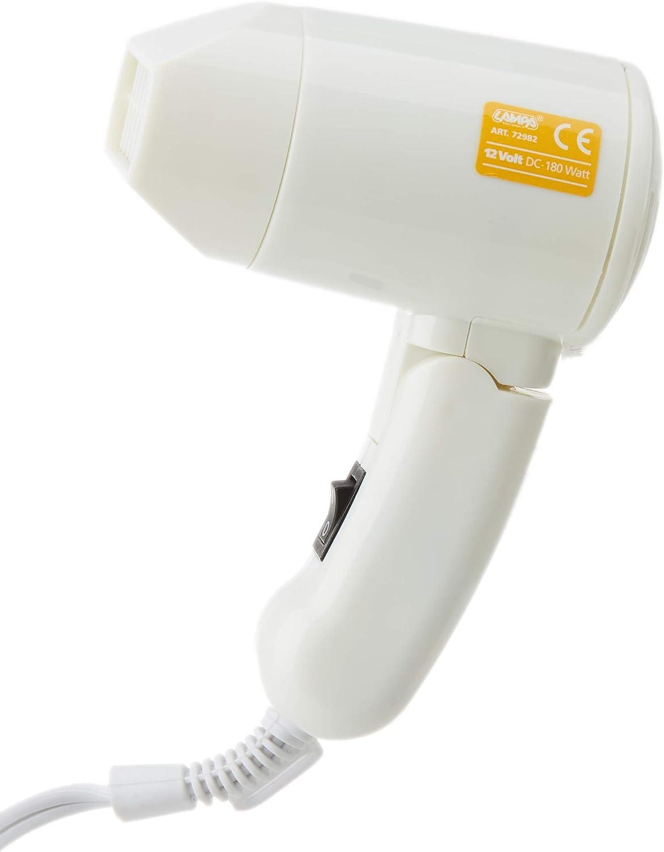 Lampa 72982 - Secador de Pelo y descongelador (12 V, 130 W)