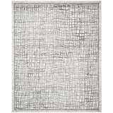 Cheap Safavieh Adirondack Collection ADR103B Silver and Ivory Modern Distressed Area Rug (12′ x 18′)