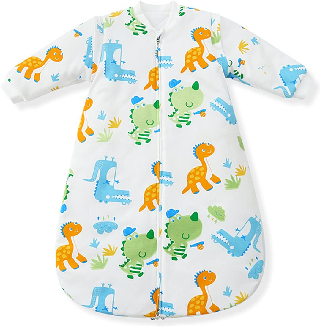 3.5 Tog Fairy Baby Winter Baby Sleeping Bags Removeable Long Sleeve Thicken Cotton Approx