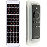 (Updated with Backlit) iPazzPort Mini Bluetooth Keyboard For Fire TV Stick , Backlit Handheld Remote for PC, Smart TV ,Android TV Box KP-810-30BL