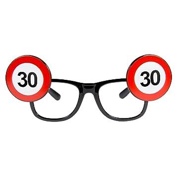 Folat 24930 - Gafas de sol unisex para 30 cumpleaños ...
