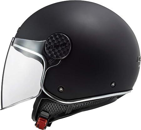 Nero LS2 NC XS Casco Moto Uomo